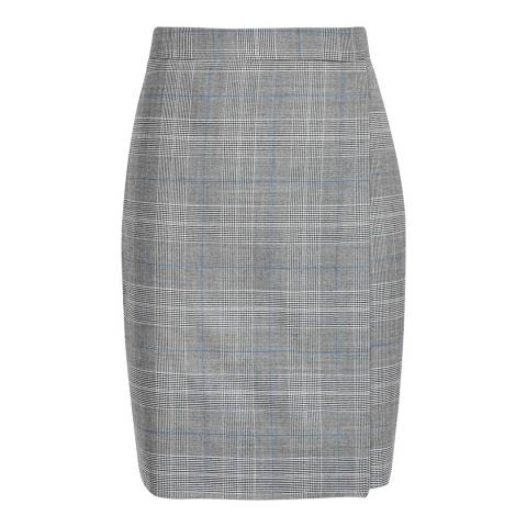 Reiss Grey Joss Pencil Skirt