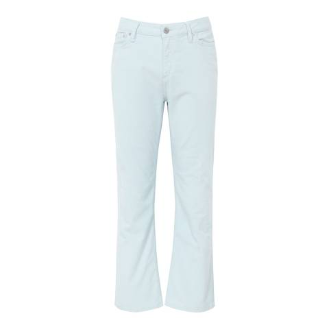 Reiss Ice Blue Ashley Kick-Flare Cord Trousers
