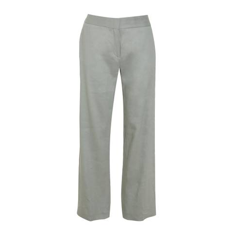 Reiss Warm Grey Maddie Tailored Trousers