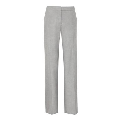 Reiss Grey Estie Tailored Trousers