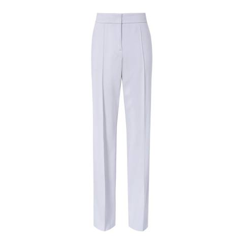 Reiss Blue Cloud Slim Tailored Trousers