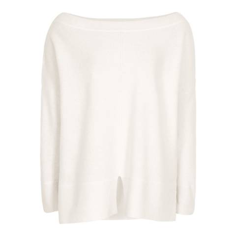 Reiss Ivory Selina Batwing Jumper