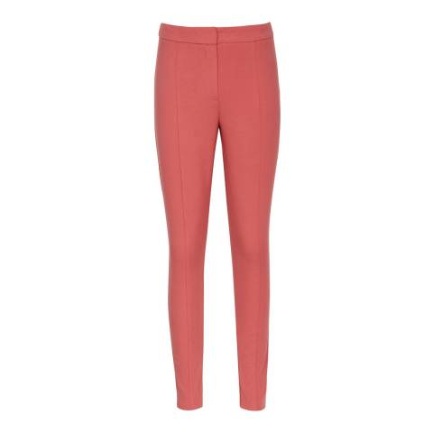 Reiss Tulip Pink Arla Skinny Stretch Trousers