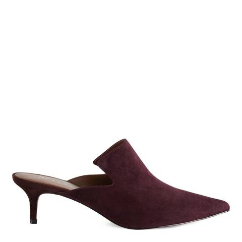 Reiss Berry Astral Suede Mules