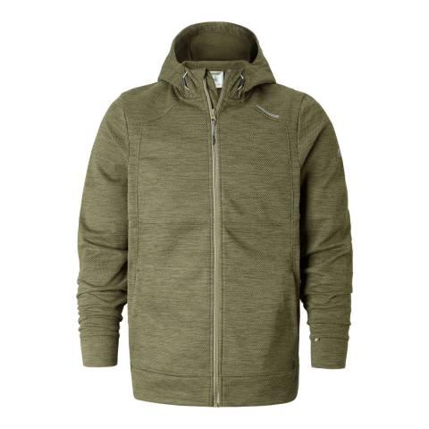 Craghoppers Dark Moss Vector Hooded Jacket