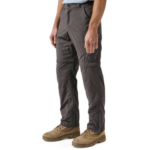 Craghoppers Black Pepper NosiLife Convertible Trousers