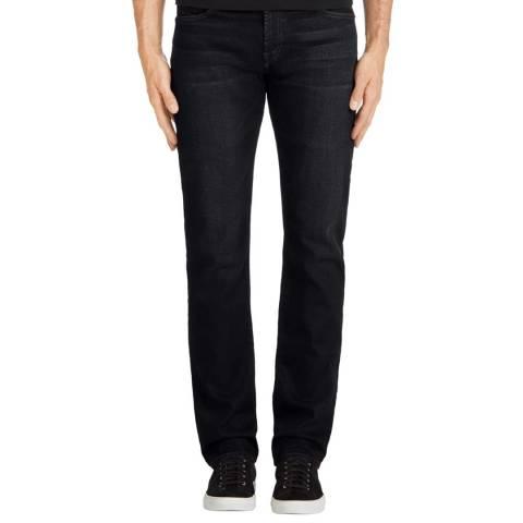 J Brand Indigo Kane Straight Fit Jeans