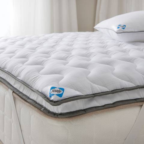 Sealy Select Balance Dual Layer King Mattress Topper