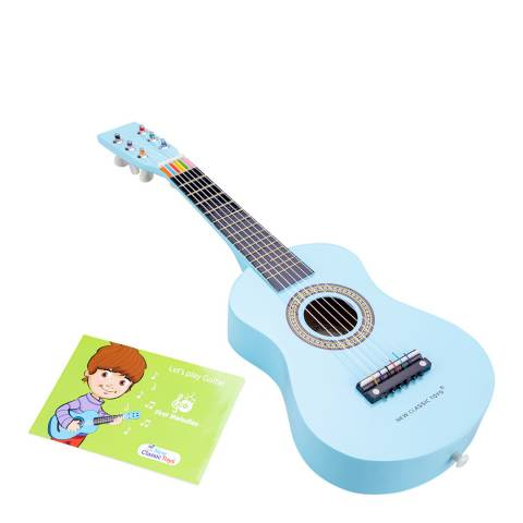 New Classic Toys Blue Guitar