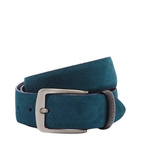 Ted Baker Teal Chatts Suede Belt
