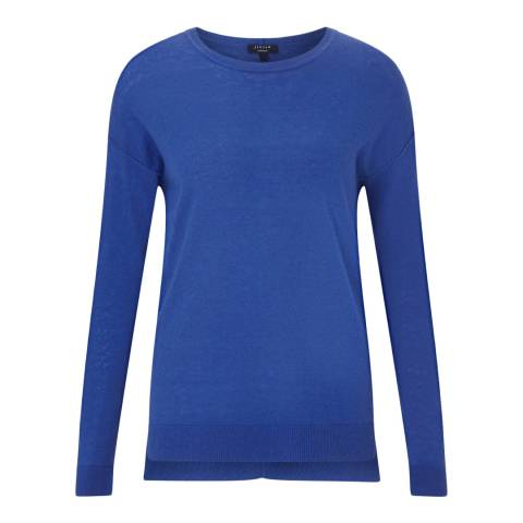 Jigsaw Pacific Blue Cashmere Jumper