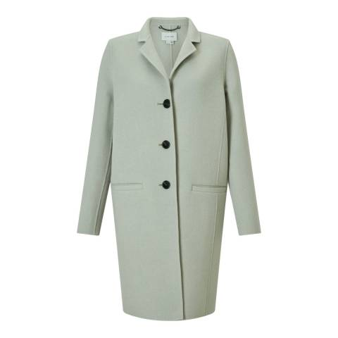 Jigsaw Mint Double Face Oval Coat