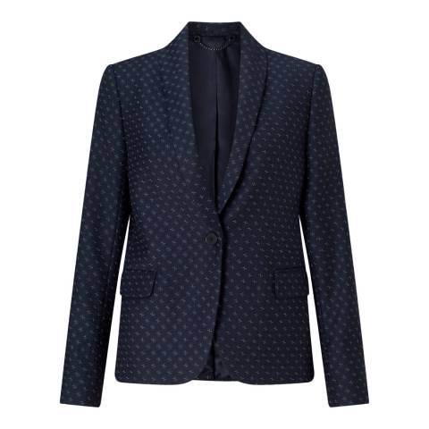 Jigsaw Navy Cross Tailoring Portofino Jacket