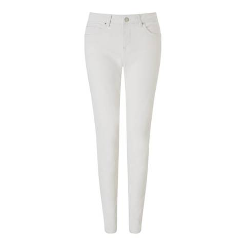 Jigsaw Off White Skinny Stretch Jeans