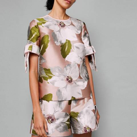 Ted Baker Dusky Pink Caytey Chatsworth Bloom Top