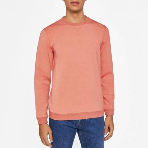 Ted Baker Orange Wolfie Sweatshirt
