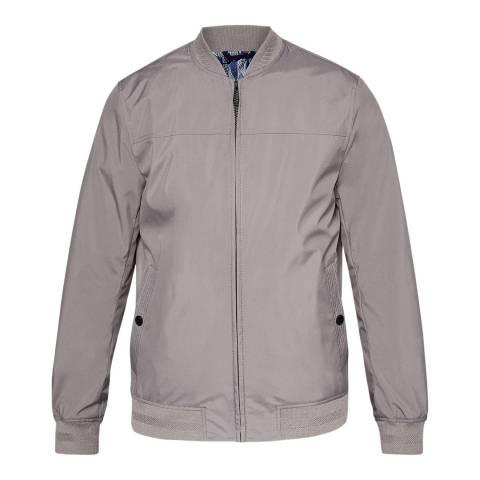 Ted Baker Grey Ohta Core Bomber Jacket