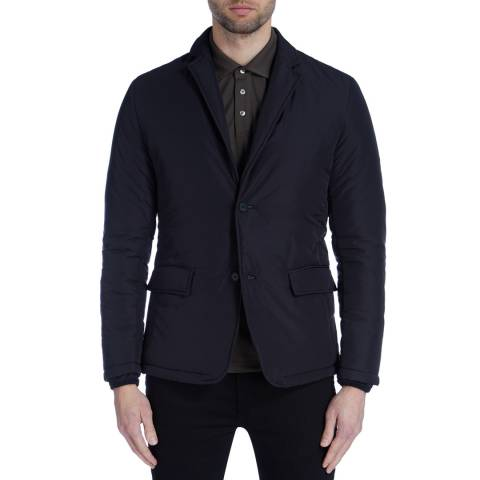 Reiss Midnight Vine Quilted Suit Jacket
