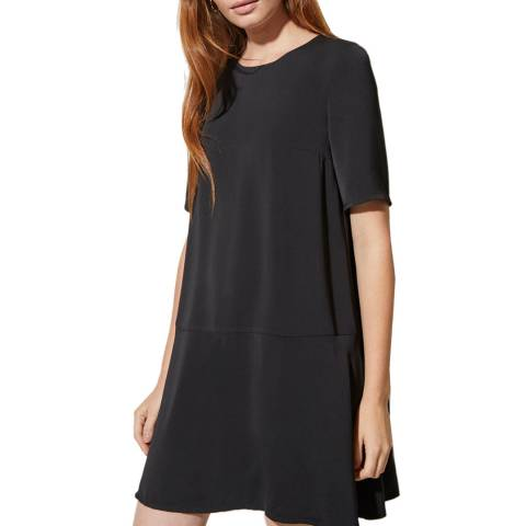 Great Plains Black Elegant Peplum Dress