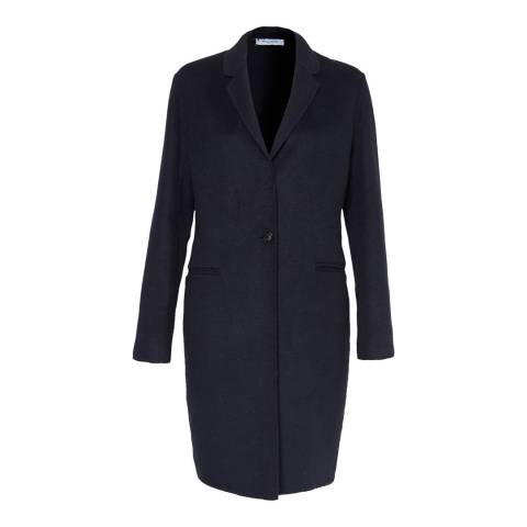 Great Plains Midnight Doubleface Collared Coat