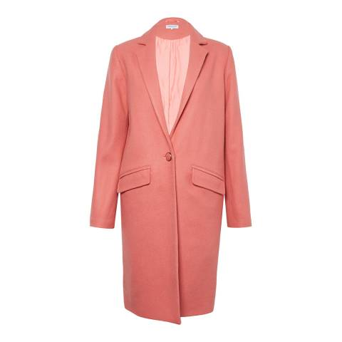 Great Plains Pink Tailored Coat