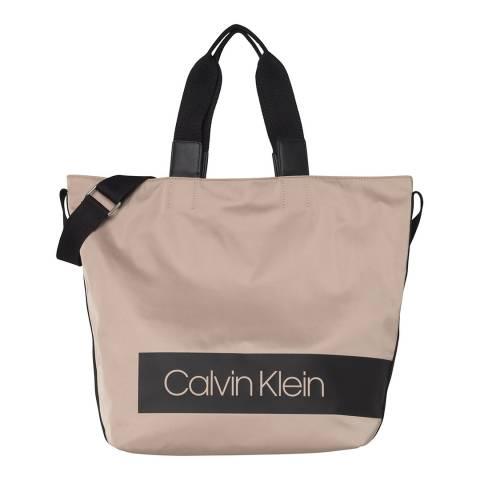 Calvin Klein Nude Block Out Shopper