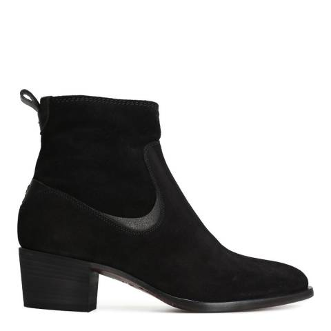 Oliver Sweeney Black Suede Sassofortino Ankle Boots