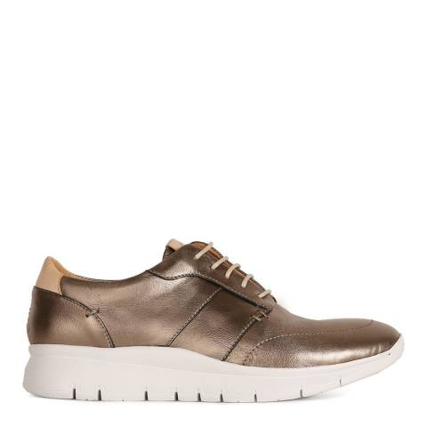 Oliver Sweeney Metallic Leather Muro Trainers