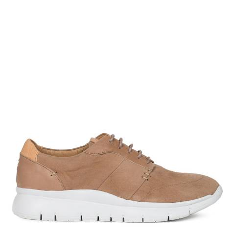 Oliver Sweeney Nude Leather Muro Trainers