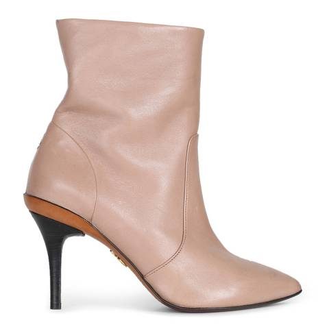 Oliver Sweeney Sand Leather Pandoro Ankle Boots
