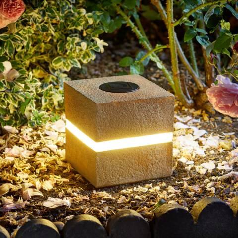 Smart Solar Glam Rock Cube Display 4L
