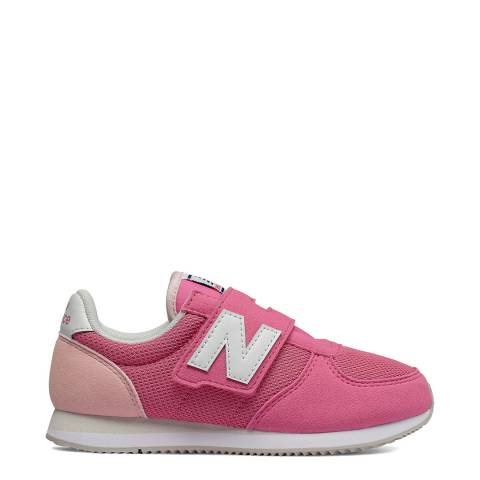New Balance Kids Pink Mesh Upper Trainer