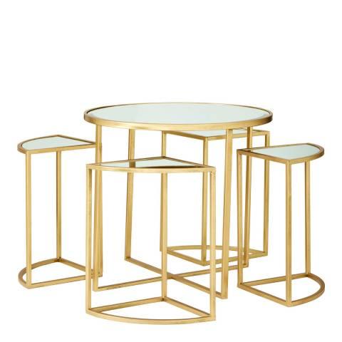 Premier Housewares Farran Set of 5 Tables