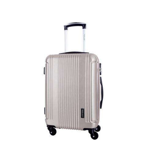 Travel One Beige Barton 4 Wheel Suitcase 50cm
