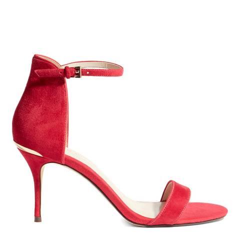 Karen Millen Dark Pink Open Strappy Heels