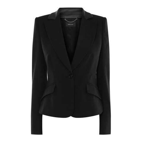 Karen Millen Black Tailored Boxy Blazer