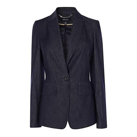 Karen Millen Denim Tailored Jacket