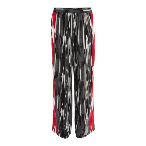 Karen Millen Abstract Print Trousers