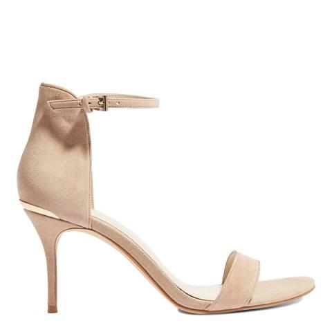 Karen Millen Nude Classic Sandals