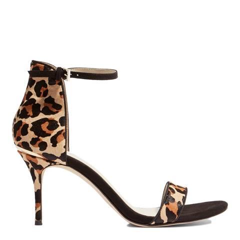 Karen Millen Classic Leopard Sandals