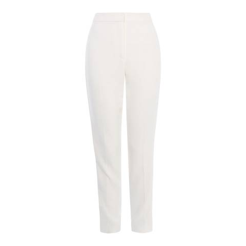 Karen Millen Ivory Tailored Summer Trousers