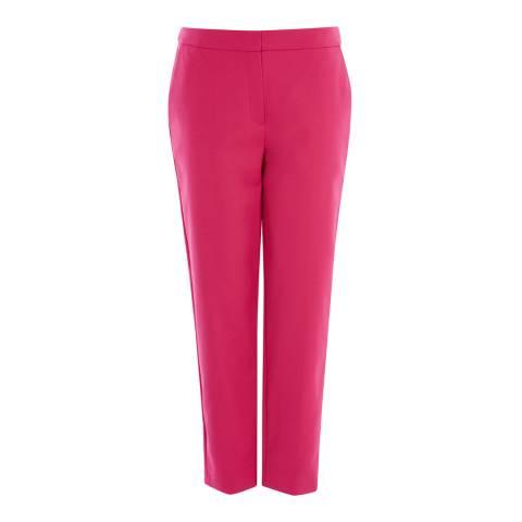 Karen Millen Hot Pink Tailored Trousers