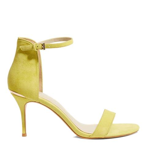Karen Millen Lime Heeled Strappy Sandals