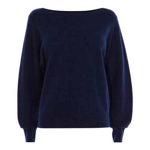 Karen Millen Dark Blue Cashmere Jumper
