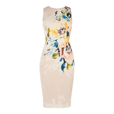 Karen Millen Multi Floral Pencil Dress
