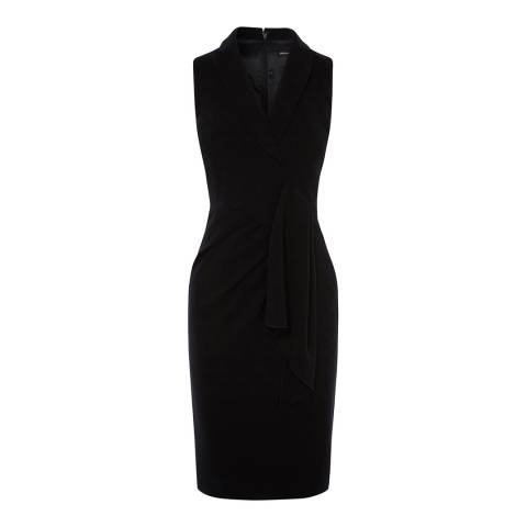 Karen Millen Black Chic Wrap Dress