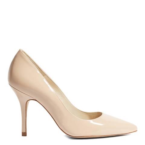 Karen Millen Nude Patent Court Shoe