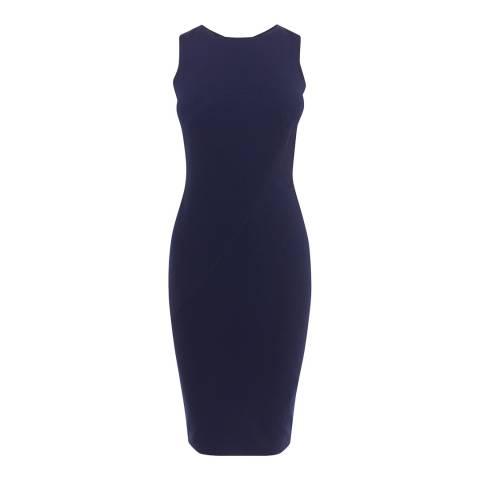 Karen Millen Dark Blue Pencil Dress
