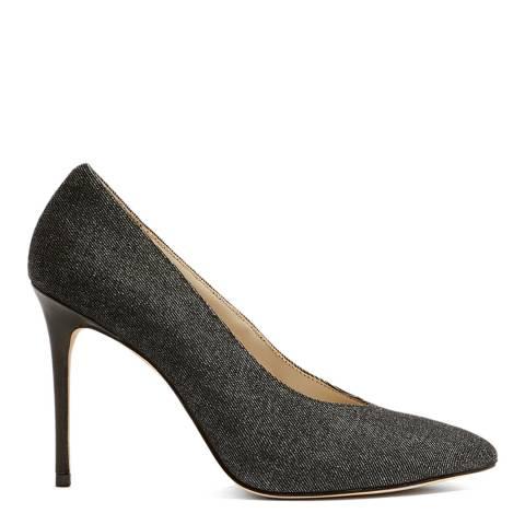 Karen Millen Denim High Vamp Court Shoe