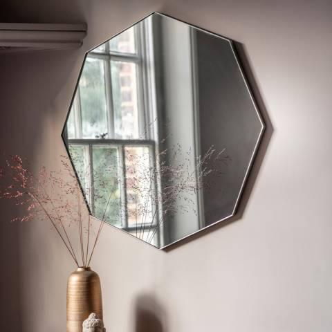Gallery Silver Bowie Octagon Mirror 80x80cm